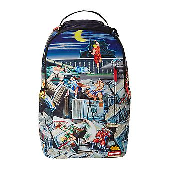 Sprayground Street Fighter Stacks Backpack