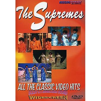 Supremes - Classic Video Hits [DVD] USA import