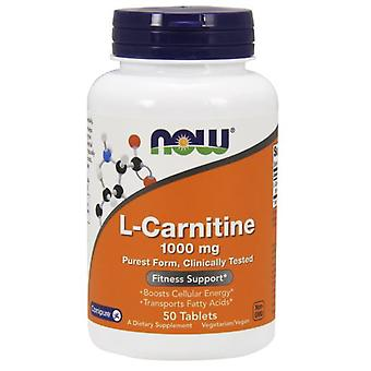 Now Foods L-Carnitin 1000 mg 50 Tabletten