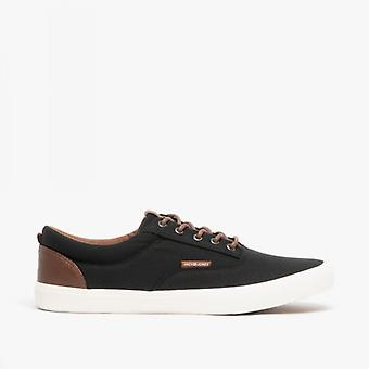 Jack & Jones Vision Classic Mixed Mens Casual Trainers Anthracite