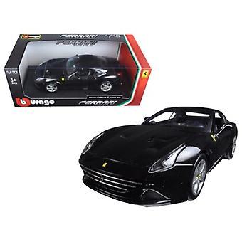 Ferrari California T (geschlossen oben) Schwarz 1/18 Diecast Modellauto von Bburago