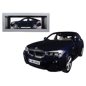 BMW X4 (F26) Imperial Blue 1/18 Diecast Model Car par Paragon