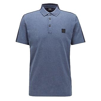 Hugo Boss Casual Hugo Boss Men's Dark Blue Pevided Polo