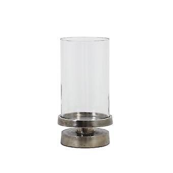 Light & Living Hurricane 17x32cm - Orgade Black Pearl With Glass