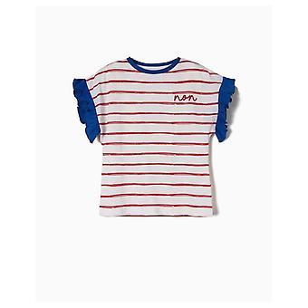 Zippy T-shirt Short Sleeve Ruffles
