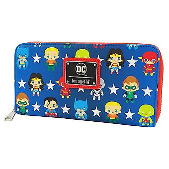 Justice League Chibi Zip-Around Wallet