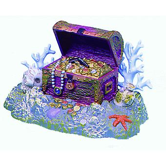 Sandimas Treasure Chest Reef (Diffusor) (Fische , Aquariumsdeko , Ornamente )