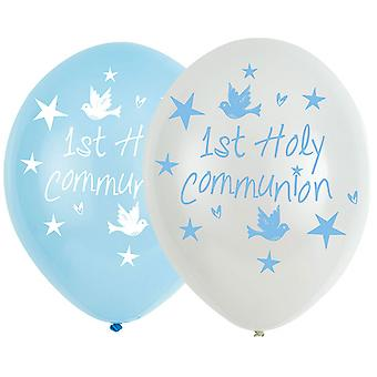 Amscan First Holy Communion Latex Balloons 11in