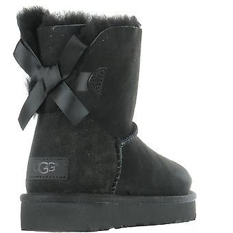 UGG Mini Bailey Bow II 1016501BLK universal all year women shoes