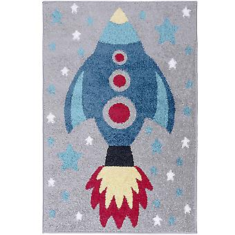Play Days Rocket Rugs In Multi