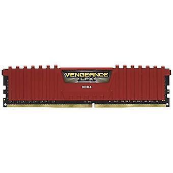 Corsair CMK8GX4M1A2400C14R 8 Gb muistimoduuli, DDR4 2400 MHz, Punainen