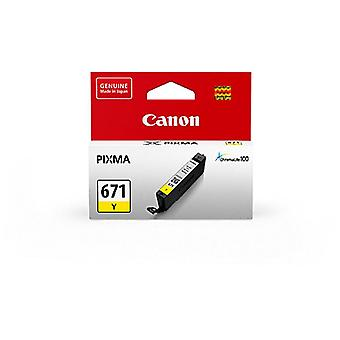 Canon CLI671 Yellow Ink Cart