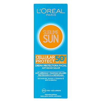Sun Cream Sublime Sun L'Oreal Make Up Spf 50 (75 ml)