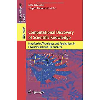 Computational Discovery of Scientific Knowledge - Introduction - Techn