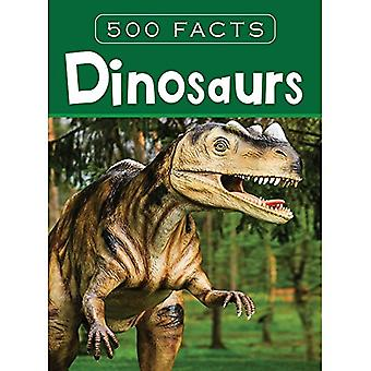 Dinosaurs -- 500 Facts by Pegasus - 9788131942055 Book
