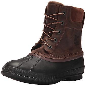 Sorel Mens Cheyanne II couro fechado Toe tornozelo frio botas de tempo