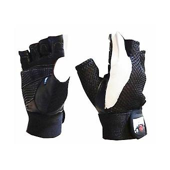 Morgan Leather And Mesh Weight Gloves