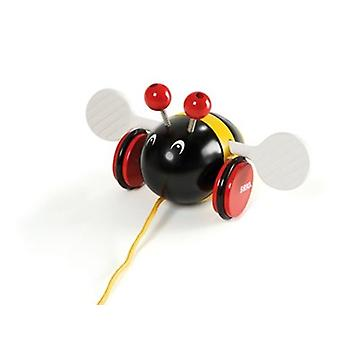 BRIO Bumble Bee 30165 Pull langs peuter houten speelgoed