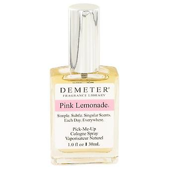 Demeter limonada rosada Colonia Spray por Demeter 1 oz Colonia Spray