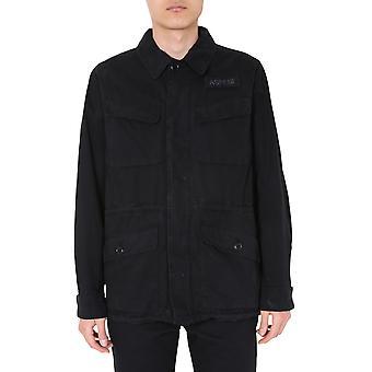 Aspesi Cg06a262st85241 Men's Jaqueta Black Cotton Outerwear