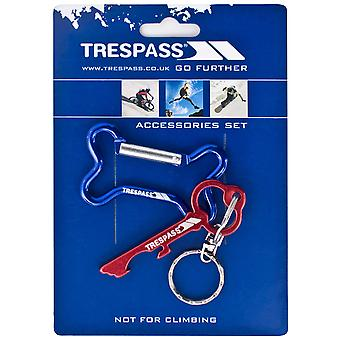 Trespass Keybone Keyring Set