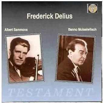 F. Delius - Violin Concerto Piano Concerto [CD] USA import