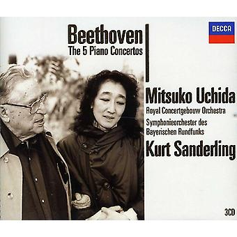 L.V. Beethoven - Beethoven: The 5 Piano Concertos [DVD] USA import