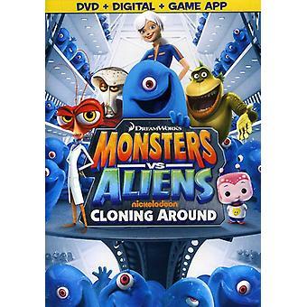 モンスター vs エイリアン: 【 DVD 】 USA 輸入周りのクローンを作成