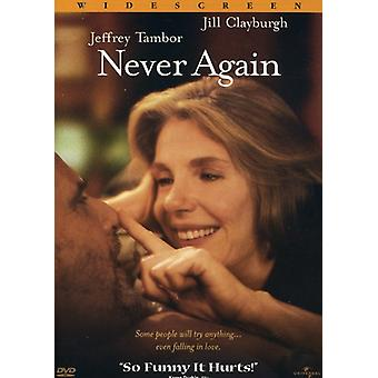 Never Again [DVD] USA import