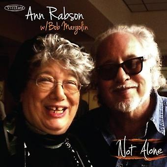 Ann Rabson & Bob Margolin - Not Alone [CD] USA import