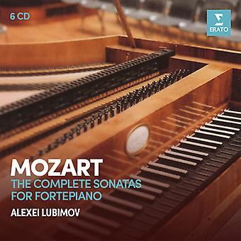 Lubimov*Alexei - Mozart: Complete Sonatas for Pianoforte [CD] USA import