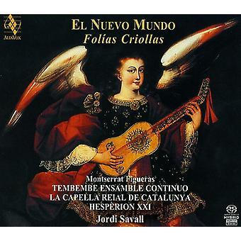 Savall/Hesperion Xxi - El Nuevo Mundo: Fol as Criollas [SACD] USA import