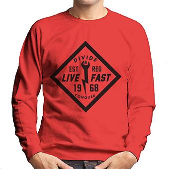 Divide & Conquer Live Fast Wrench Men's Sweatshirt