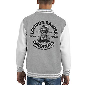 London Banter Originals Daper Ape Kid's Varsity Jacke