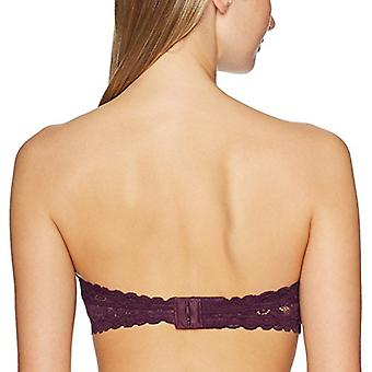 Brand - Mae Women's Inner Wire Support Lace Bandeau Bra (for A-C cups)...