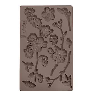 Re-diseño con prima cherry blossoms 5x8 inch Mould