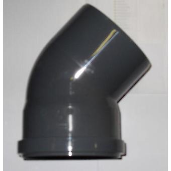 Insérer les raccords des déchets - plient - 45 degrés - 32mm de diamètre