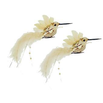 Premier Humming Birds Decorações de Natal (Pacote de 2)