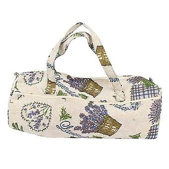 Portable Knitting Bag For Wool, Yarn, Crochet Hooks Storage - Sewing Needles