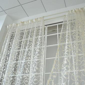 Window Curtain Sheer For Bedroom Living Room Modern Ready Made