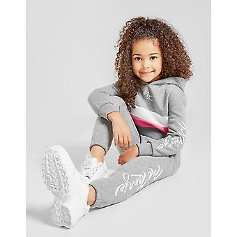 New McKenzie Girls' Doral Fleece Tracksuit Grey