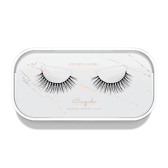 Esqido Unisyn False Eyelashes - Heart & Soul - Natural & Lightweight Fake Lashes