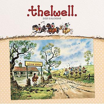 Thelwell Square Wiro Wall Calendar 2021