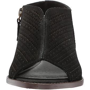 KELSI DAGGER BROOKLYN Women's Seneca Flat Sandal, Black, 7.5 M US