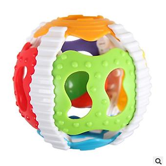 Baby Rattle Infant Sound Ball - Soft Hand Catcher Rattle Baby Hollow Grasping