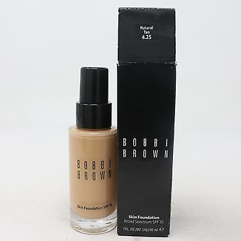 Bobbi Brown Skin Foundation Spf 15  1.0oz/30ml New