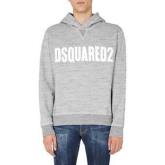 Dsquared2 S71gu0412s25148963 Män's Grå Bomull Sweatshirt