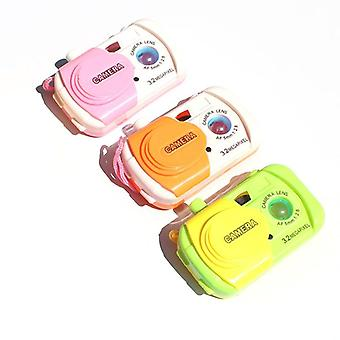 Simulation Mini Creative Camera Toys Kids Projection Children  Education Toy Cameras Boys Girls  (random Color)
