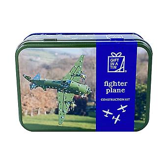 Fighter Plane Construction Kit - Metal and Plastic - Luxury Gift Item