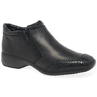 ريكر دوتي النساء الرمز ربط الأحذية